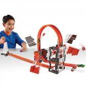 Hot Wheels Track Builder Bloklu Mega Yıkım Yarış Seti-10