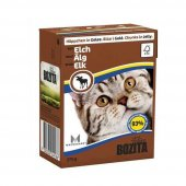 Bozita F.chunks İn Jelly Tahılsız Geyikli Kedi Konservesi 370 Gr