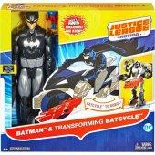 Justıce League Actıon Batman Transformıng Batcycle...