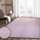 Latuda LA5007 Dijital Baskılı Kaymaz Lastikli Yıkanabilir Soft Halı &Oumlrt&uumlsü