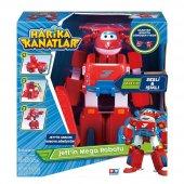 Harika Kanatlar Jettin Sesli ve Işıklı Mega Robotu-2