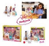 Barbie Süpermarkette Oyun Seti FRP01 YENİ MODEL-2