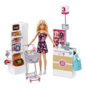 Barbie Süpermarkette Oyun Seti FRP01 YENİ MODEL-4