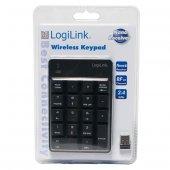 LogiLink ID0120 18 Tuşlu Kablosuz Nümerik Key Pad (Tuş Takımı)-3
