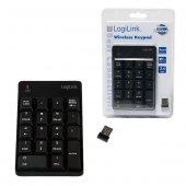 LogiLink ID0120 18 Tuşlu Kablosuz Nümerik Key Pad (Tuş Takımı)-4