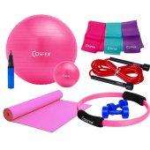 Cosfer Csfset 07 Komple Yeni Pilates Seti