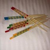 Bambu ağacından Chopstick - 5 çift-2