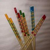 Bambu ağacından Chopstick - 5 çift-3