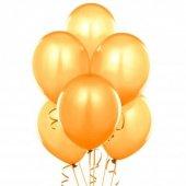 25 Adet Gold Metalik Balon