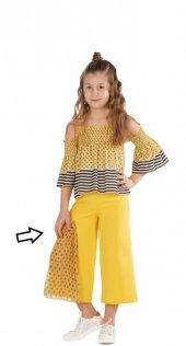 Zekids Kız Çocuk Göz Detaylı Pantolon