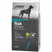 Golosi Fish Rice Balıklı Yetişkin Köpek Maması...