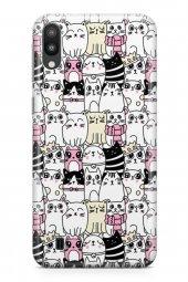 Samsung Galaxy M10 Kılıf Kitty Serisi Jasmine