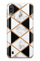 Samsung Galaxy M10 Kılıf Prismatic Serisi Makayla