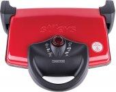Tostzade Tm 060 Izgaralı Tost Makinesi Kırmızı