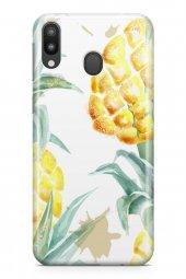 Samsung Galaxy M20 Kılıf Pineapple Serisi Paisley