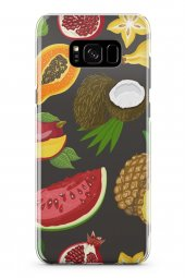 Samsung Galaxy S8 Kılıf Pineapple Serisi Luna