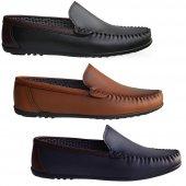 MPP RF 601 9 Renk Fabrikadan Halka Eko Rok Erkek Ayakkabı