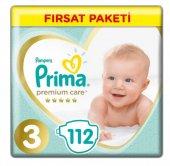 Prima Premium Care 3 Beden (6 10 Kg) 112 Adet Ekonomik Paket Ücretsiz Kargo