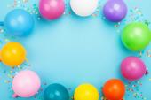 50 Adet Baskısız Renkli Karışık Balon