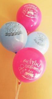 50 Adet Karışık İyiki Doğdun Baskılı Balon