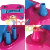 Çift Çıkışlı Balon Şişirme MakinasI-Pembe Renkli-3