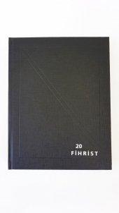 Gürpaş Ticari Fihrist 20li 20x28 Cilt Bezli
