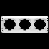 Viko Kardelen Üçlü Yatay Çerçeve (Beyaz) Kordonsuz