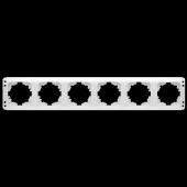 Viko Kardelen Altılı Yatay Çerçeve (Beyaz) Kordonsuz