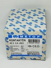 Metop 8a 400v Kontaktör Mtk01c
