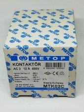 Metop 12a 400v Kontaktör Mtk02c