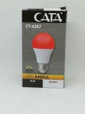 Cata 10w Kırmızı Led Ampul Ct 4267