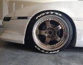 Yeni Ürün Orjinal Nitto 3d Lastik Yazısı Tire Sticker