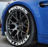 Yeni Ürün Orjinal Toyo Tires Proxes 3d Lastik Yazısı Garantili
