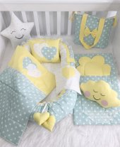 Modastra Babynest Lüx Tasarım Ortopedik Yatak Baby Nest Uyku Seti