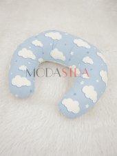Modastra Mavi Bulut Desenli Emzirme Yastığı