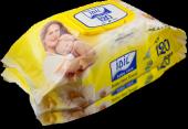 Idil Baby Care Sarı Islak Havlu 120 Li Mendil...