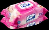 Idil Baby Care Pembe Islak Havlu 90lı Mendil 10...