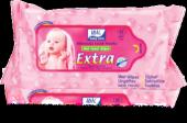 Idil Extra Bebe Havlu 80li Mavi 10 Adet