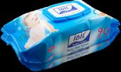 Idil Baby Care Mavi Islak Havlu 90lı Mendil 10...