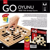 Redka Go Oyunu 4000 Yıllık Akıl Zeka Mantık Ve...