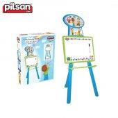 Pilsan Handy Eğitici Ayaklı Çocuk Yazı Tahtası Mavi 03418