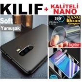 Iphone Xs Max 6.5 Soft Kaliteli Kılıf + Nano Ekran Koruyucu