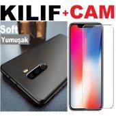 Huawei Honor Gt3 Premium Soft Kaliteli Kılıf + Cam