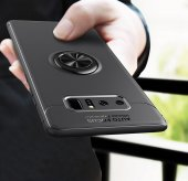 Samsung Galaxy Note 8 Kaliteli Yüzüklü Stant Kılıf