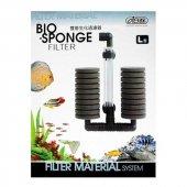 ısta Bio Sponge Çiftli Pipo Üretim Filtresi L