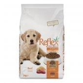 Reflex Biftekli Yavru Puppy Köpek Maması 3 Kg