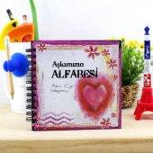 Sevgililere Romantik Aşkımızın Alfabesi Kitabı
