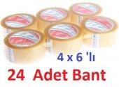Ecotape Koli Bandi Seffaf 45mmx100mt (4x6lı 24 Adet)