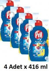 Pril Power Limon Bulaşık Sıvı (4 Adet X 416 Ml)...