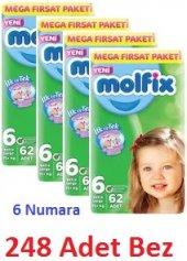 Molfix Bebek Bezi 6 Beden Extra Large 248 Adet Bez...